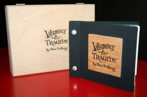 Whimsey & Tragedy hand-made book