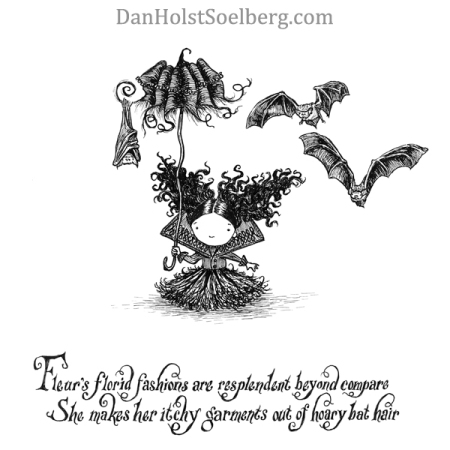 'Fleur' from the book Dwellers of Lurching Swill by Dan Holst Soelberg