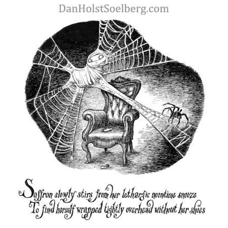 'Saffron' from the book Dwellers of Lurching Swill by Dan Holst Soelberg
