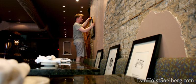 Dan Holst Soelberg hanging artwork