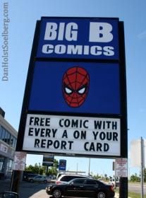 Big B sign