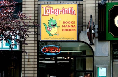 The Labyrinth store front