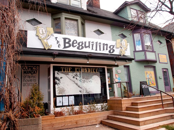 The Beguiling storefront