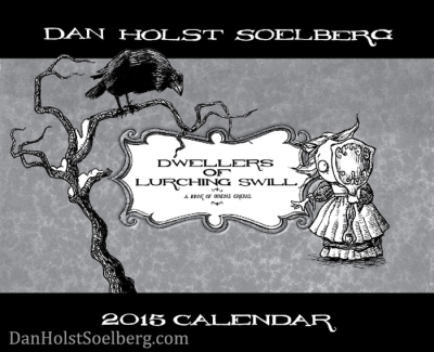 2015 Calendar by Dan Holst Soelberg