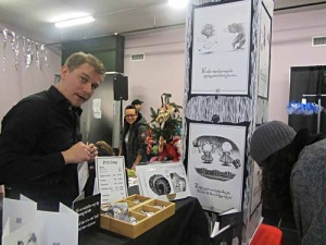 Photo of Dan Holst Soelberg at the 2014 Bazaar of the Bizarre