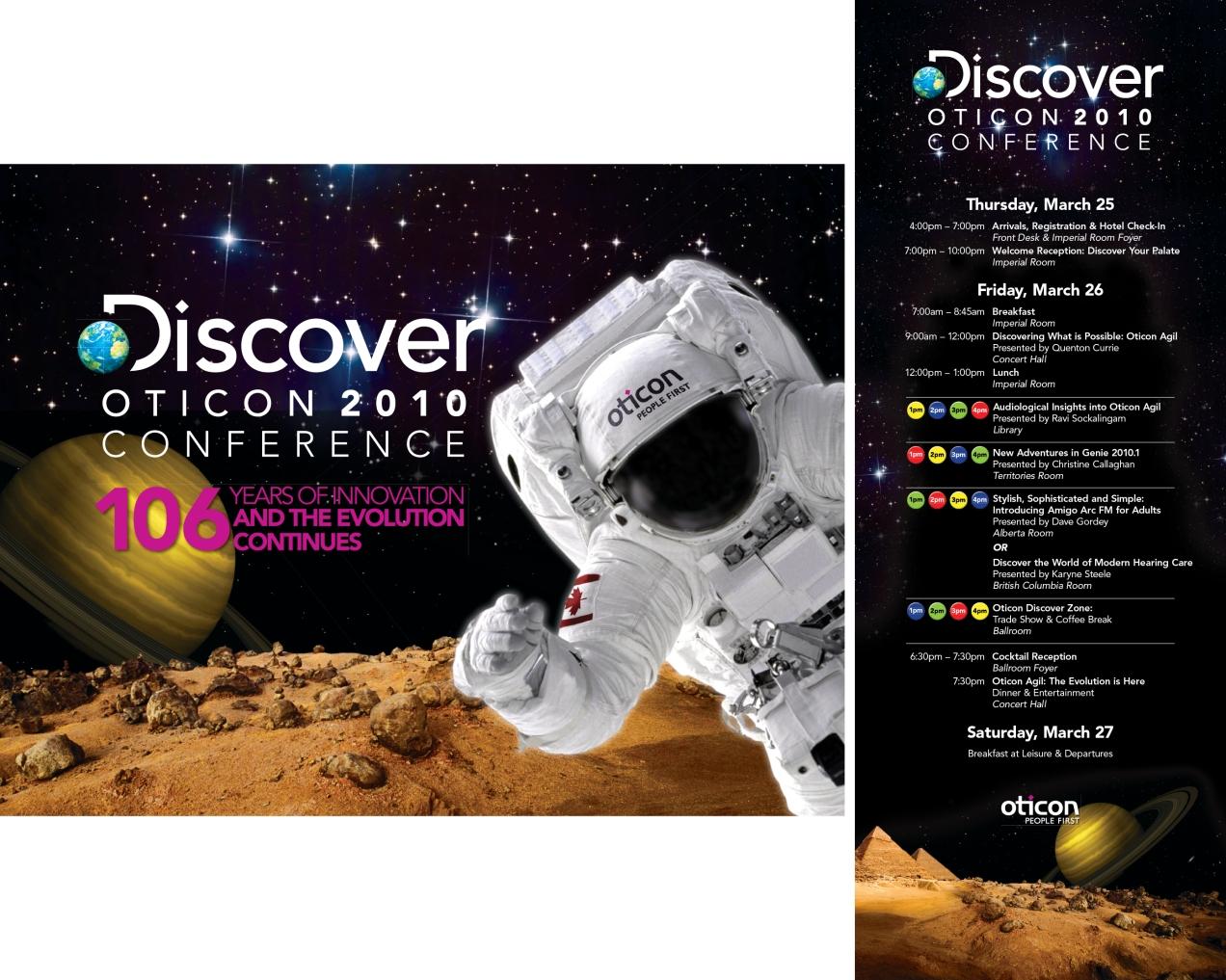 Graphic design, event branding, copy writing - Dan Soelberg