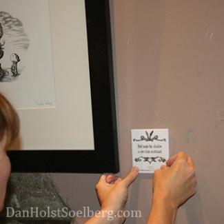 Dan Holst Soelberg Shadow Abuse Art Exhibition
