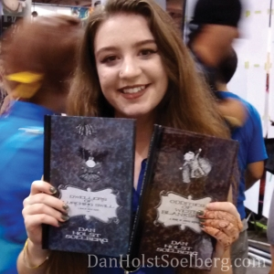 Dan Holst Soelberg with Emma at Fan Expo