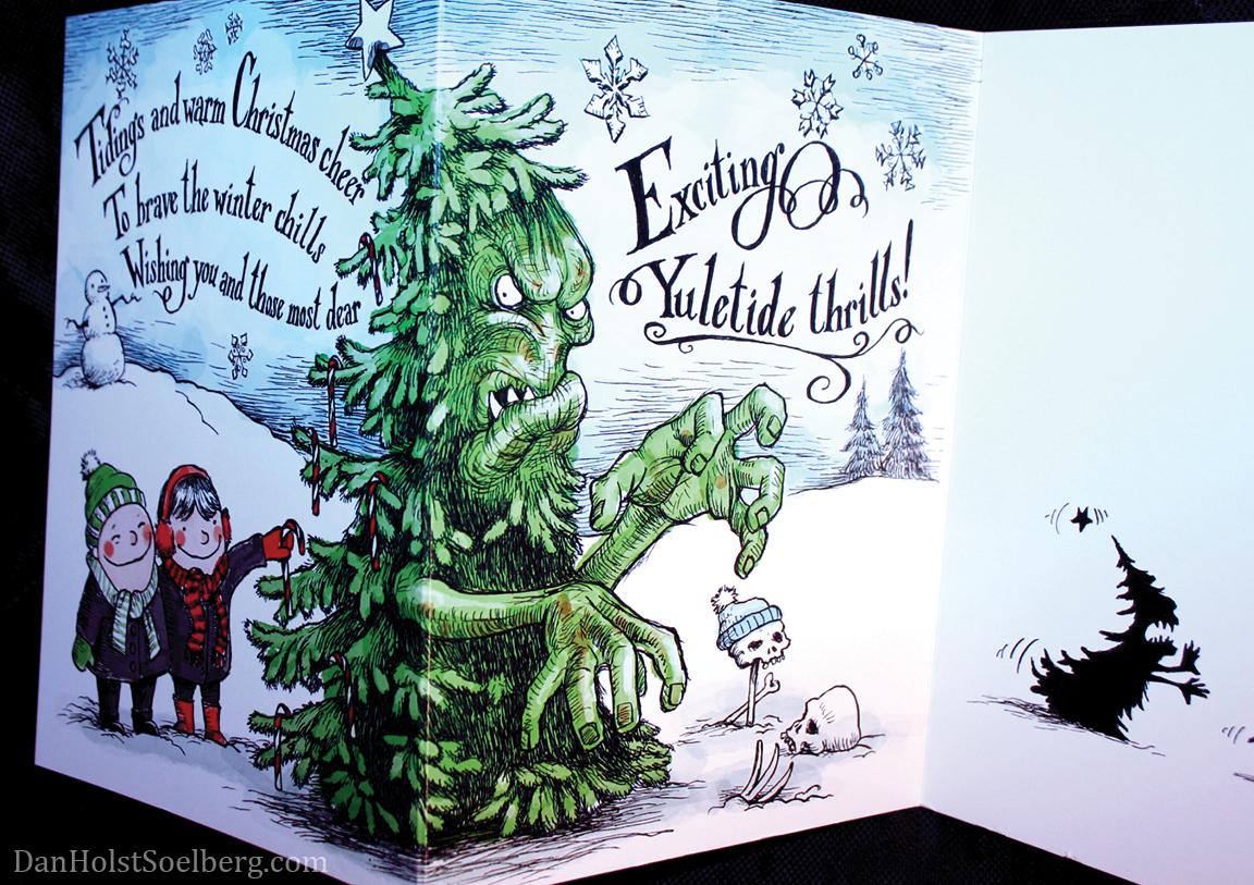 Dan Holst Soelberg - inside 2016 Christmas card