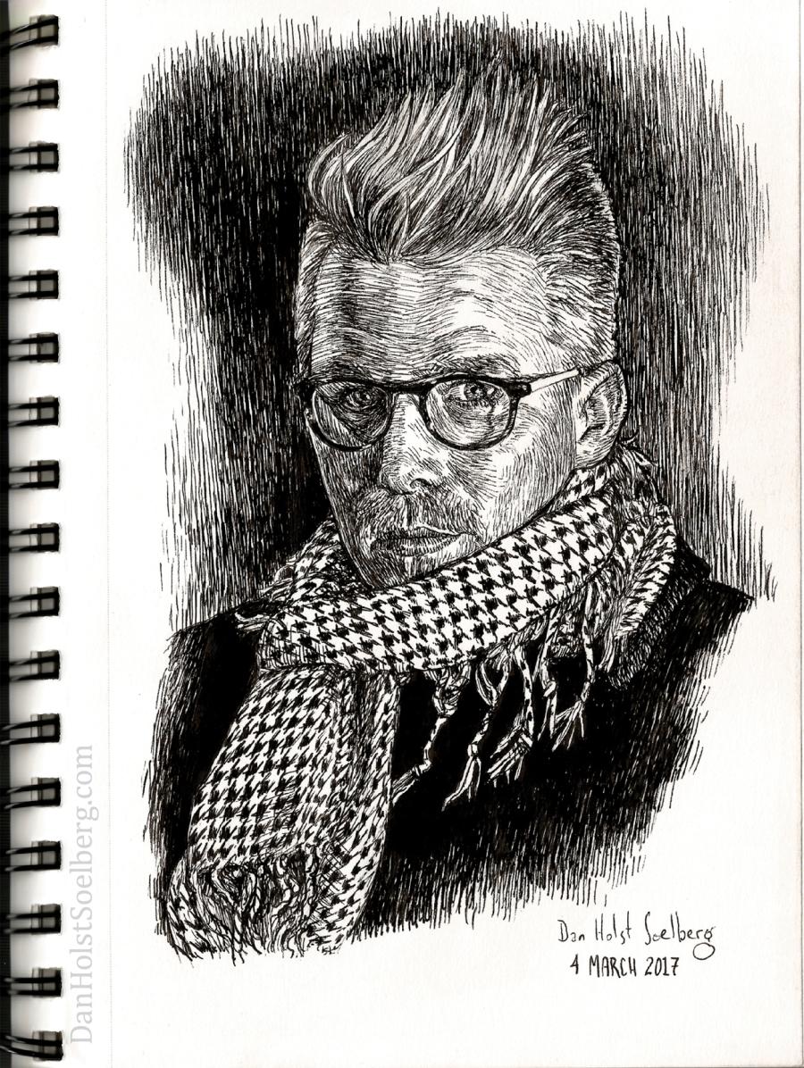 Dan Holst Soelberg - self-portrait