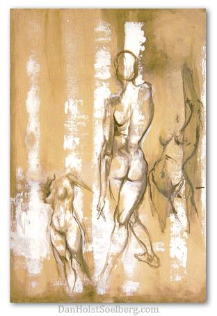 1-3 Nude Figures